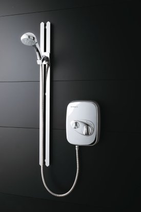 Aspirante Power Shower with Venus Riser Rail