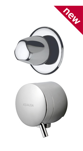 Aqualisa Quartz Digital - Bath Waste Filler & Diverter Valve