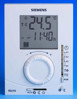 Siemens RDJ10-GB Wired Digital Programmable Room Thermostat - SOLD-OUT!!