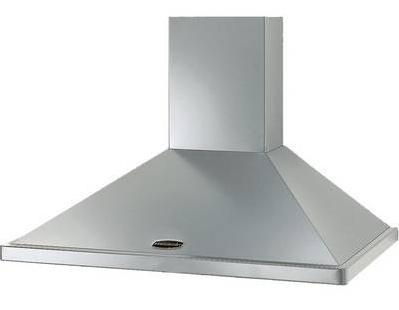 Rangemaster Chimney Hood - Stainless Steel No Rail 90cm - DISCONTINUED