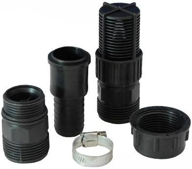 Silverline - WATER PUMP FITTING KIT (1INCH BSP) - DISCONTINUED - 125978