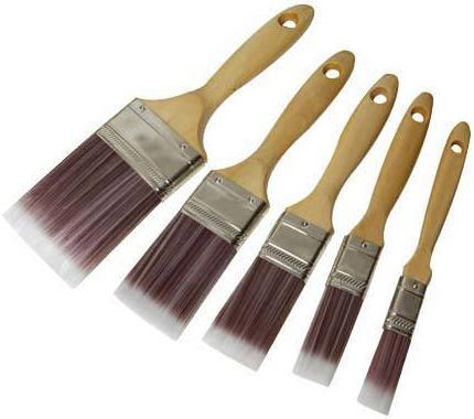 Silverline - 5PCE SYNTHETIC BRUSH SET - 282408