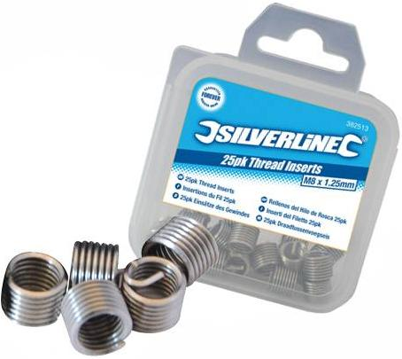 Silverline - THREAD INSERT M5 X 0.8MM 25PK - 234567