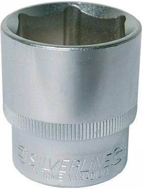Silverline - 1/2INCH SQUARE DRIVE IMPERIAL HEX SOCKETS 7/16INCH - 367968