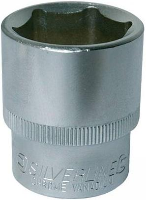Silverline - 1/2INCH SQUARE DRIVE METRIC HEX SOCKETS 11MM - 342615