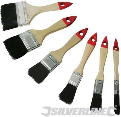 Silverline - 50PCE DISPOSABLE BRUSH SET - 633546