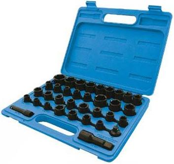Silverline - 35PCE IMPACT SOCKET SET - 633802