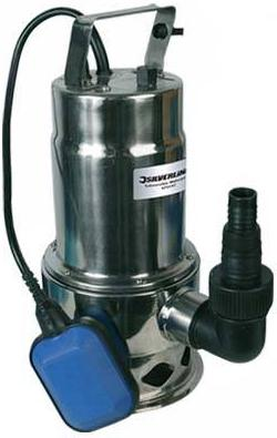 Silverline - 550W SUBMERSIBLE WATERPUMP DISCONTINUED- 657891