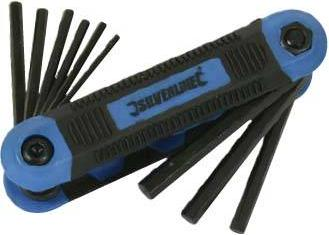Silverline - EXPERT QUALITY 9CE IMPERIAL HEX KEY SET - 763580