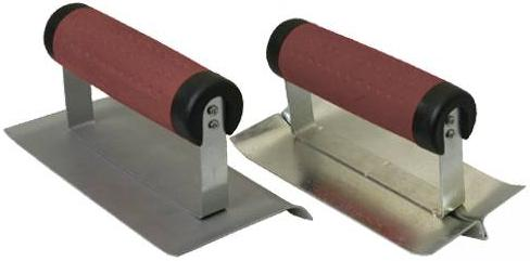 Silverline - SOFTGRIP EDGE AND GROOVE TROWEL SET - 918553