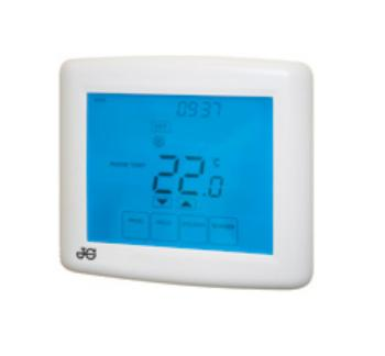 Touchscreen Twin Channel Programmable Room Thermostat - JGSTAT2/TS/V3 - DISCONTINUED