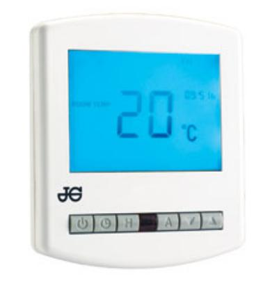 Programmable Room Thermostat Plus Hot Water Control - JGSTATPLUS/V3