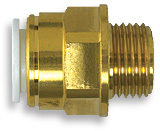 "Speedfit Male Coupler 15mm x 1/2"" BSP - 246330"