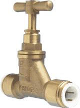Speedfit Stop Valves Brass 15mm - 15BSC