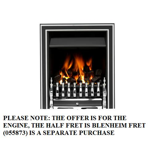 Valor Airflame Convector MC Inlay Trim Chrome - 0505505 - SOLD-OUT!!