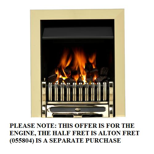 Valor Airflame Convector RC Full Trim Brass - 0505703 - DISCONTINUED