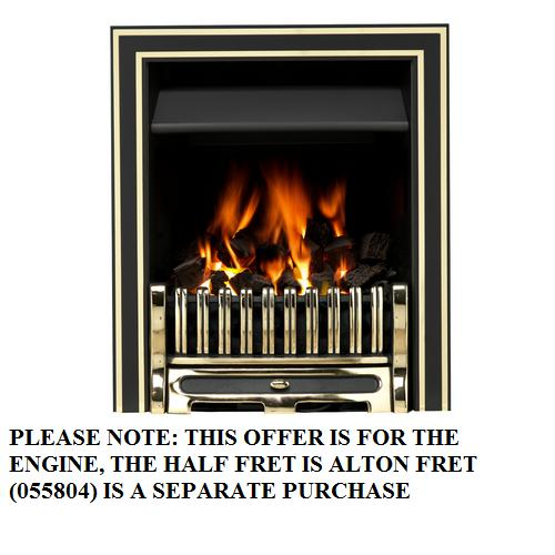 Valor Airflame Convector RC Inlay Trim Brass - 0505706