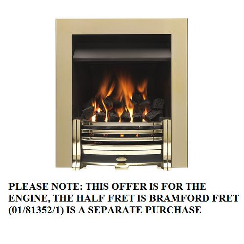 Valor Airflame Convector RC Full Trim Pale Gold - 0505712