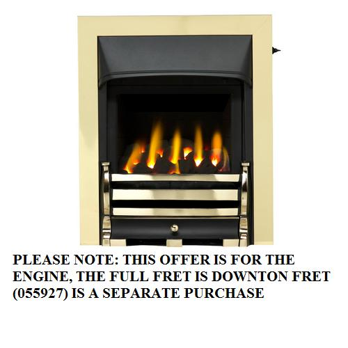 Valor Trueflame FD Homeflame Full Trim Brass - 0596142 - SOLD-OUT!!
