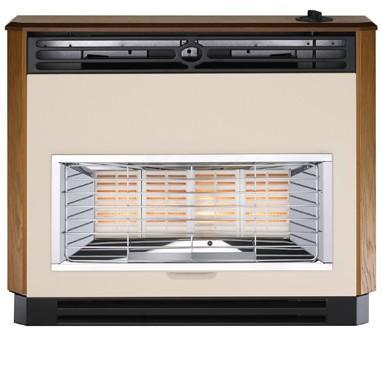 Valor Brava 4 Radiant Oxysafe Mahogany Outset Gas Fires - Manual Control - 103767MY