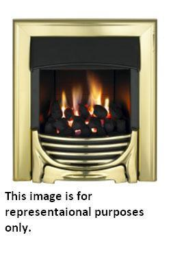 Valor Decadent C1 Inset Coal Gas Fire - Chrome - DISCONTINUED - 104867CH