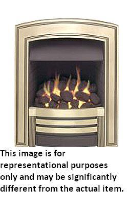 Valor Heritage Slimline Inset Gas Fire - Chrome - 104863CP