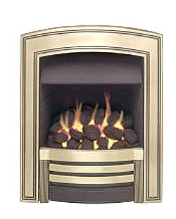 Valor Heritage Inset Gas Fire - DISCONTINUED - Brass - 104862BS
