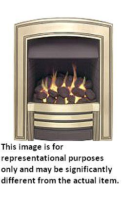 Valor Heritage Inset Gas Fire - Chrome - 104862BS - DISCONTINUED