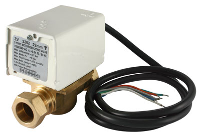 Motorised 2 Port Zone Valve 22mm - ZV2202 - DISCONTINUED