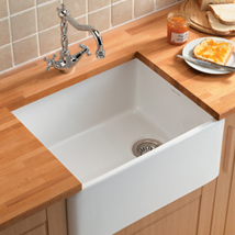The Kitchen Works London 600 Fireclay Sink - DISCONTINUED - B55610