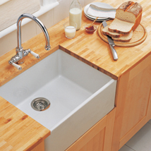 The Kitchen Works Gloucester 600 Fireclay 1.0B Sink - B55650