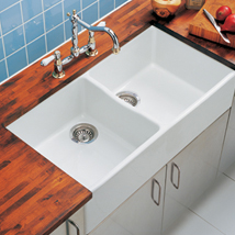 The Kitchen Works Gloucester 900 Firecaly 2.0B Sink - B55660