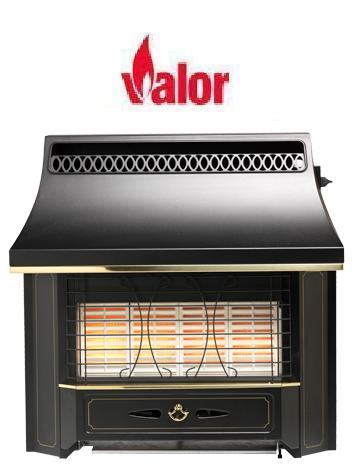Valor Black Beauty Radiant Oxysafe Outset Gas Fire - Slide Control - 109914 - SOLD-OUT!!