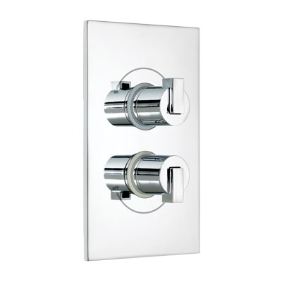 Bristan Chill Dual Thermostatic Shower Valve Chrome - CL SHCVO C - CLSHCVOC - DISCONTINUED