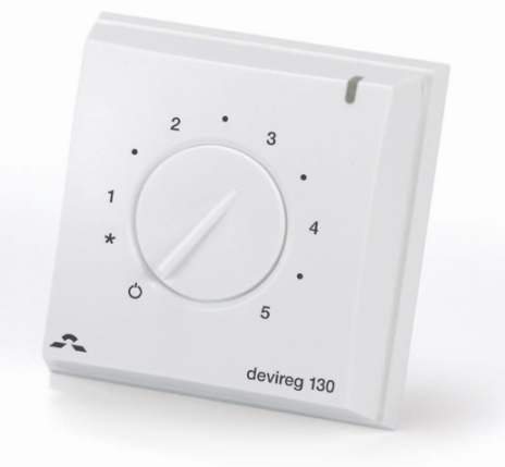 Danfoss Devireg 130 White - Thermostat for Floor Heating - DISCONTINUED