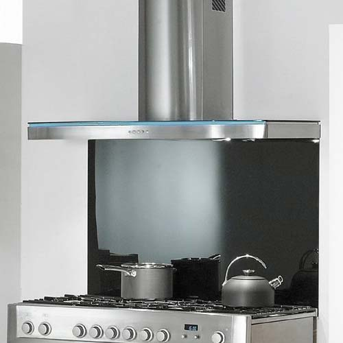 Elite Hood - 110cm Stainless Steel Glass