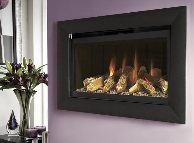 FLAVEL Rocco BF (Balanced Flue) Black and Black with Remote - 109723BB