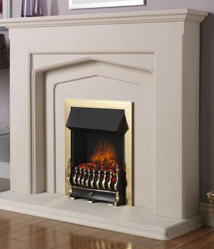 FLAVEL Ultiflame Electric - Traditional (Electrical Fire) - Brass - 143855