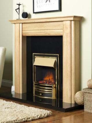 FLAVEL Ultiflame Electric - Rockingham (Electrical Fire) - Silver - 143856