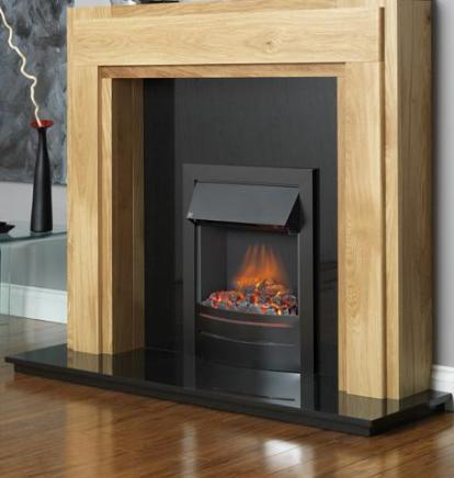 FLAVEL Ultiflame Electric - Contemporary (Electrical Fire) - Black - 143864BK