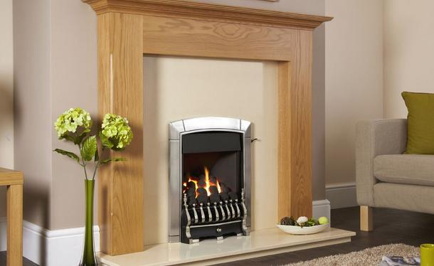 Flavel Caress Plus Traditional Gas Fire Slide Silver - FKPC6JSN