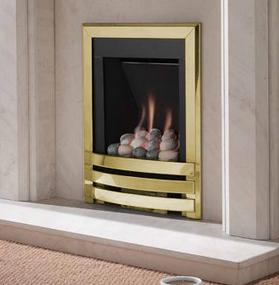 FLAVEL Windsor Contemporary Pebble Brass - 109711BR