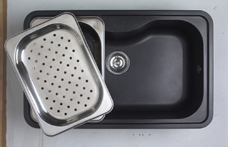 Astracast Olympus 1.0B Sink Volcano Black - G12934 - DISCONTINUED