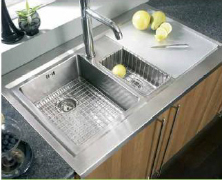Astracast Bistro 1.5B Sit On Sink Left Hand Drainer - G12957 - DISCONTINUED