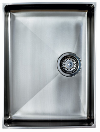 Onyx 4054 Large Bowl Inset Sink with Chrome Waste - G12963