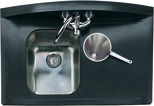 Roma Neostone 1.5B Right Hand Drainer Kitchen Sink - G66501