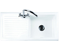 Rustique 1.0B Right Hand Drainer Ceramic Kitchen Sink - G66524