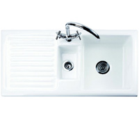 Rustique 1.5B Left Hand Drainer Ceramic Sink - G66525 - SOLD-OUT!!