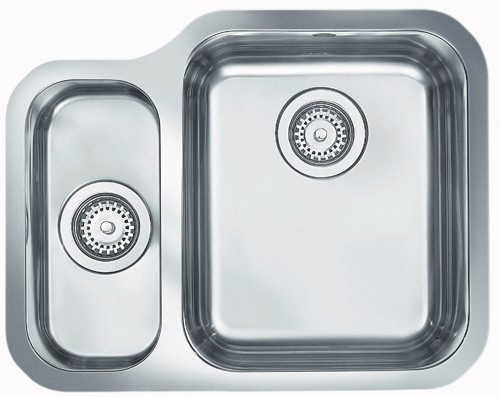 Rangemaster Atlantic 2.0B Undermount Sink C/Waste - G66540