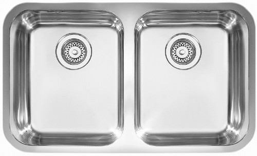 Rangemaster Atlantic 2.0B Undermount Kitchen Sink - G66542